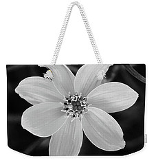 Threadleaf In Black And White Weekender Tote Bag