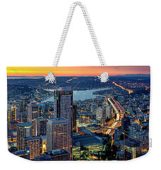 Weekender Tote Bag featuring the photograph Threads Of Life by Ryan Manuel