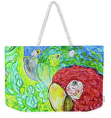 Three Amigos Weekender Tote Bag by Susan D Moody