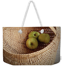 Three Apples Weekender Tote Bag
