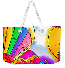 Three Balloons Weekender Tote Bag