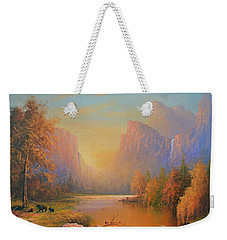 Yosemite National Park Weekender Tote Bag by Joe Gilronan