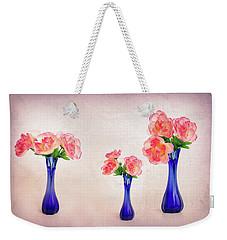 Three Beautiful Things Weekender Tote Bag