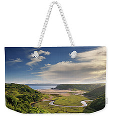 Three Cliffs Bay 6 Weekender Tote Bag