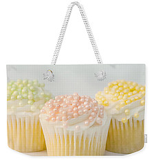 Three Cupcakes Weekender Tote Bag