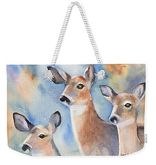 Three Deer Weekender Tote Bag