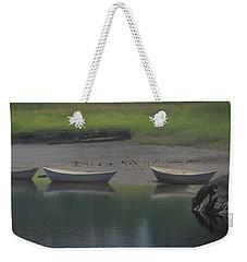Three Dories Weekender Tote Bag