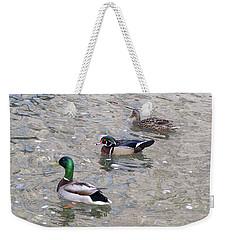 Three Ducks Weekender Tote Bag