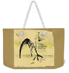 Three E's Weekender Tote Bag