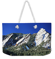 Three Flatirons Weekender Tote Bag