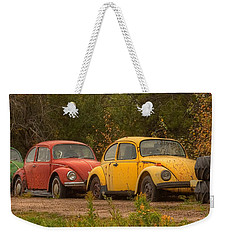 Three For The Road Weekender Tote Bag