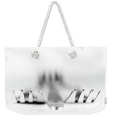Weekender Tote Bag featuring the photograph Three Forks by Gary Gillette