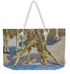 Three Giraffes Weekender Tote Bag