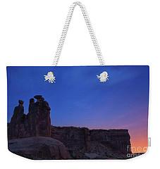 Three Gossips Weekender Tote Bag