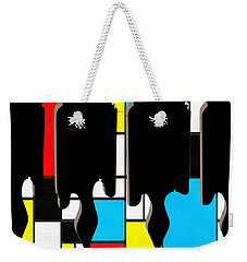 Three Guitars Modern Tee Weekender Tote Bag