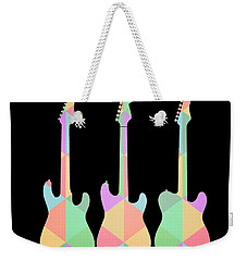 Three Guitars Triangles Tee Weekender Tote Bag