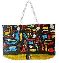 Three In Focus Weekender Tote Bag