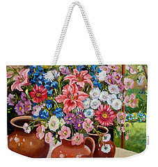 Three Jars Weekender Tote Bag