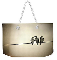 Three Little Birds Weekender Tote Bag