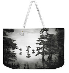 Weekender Tote Bag featuring the photograph Three Little Brothers by Eduard Moldoveanu