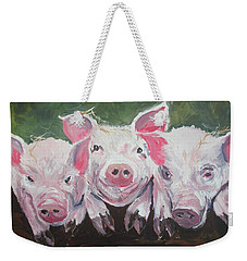 Three Little Pigs Weekender Tote Bag