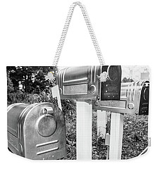 Three Mailboxes Weekender Tote Bag