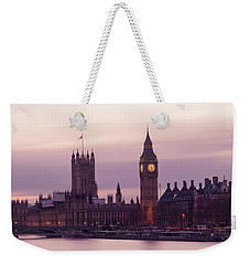 Weekender Tote Bag featuring the photograph Three Minutes After Sunset by Alex Lapidus