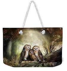 Three Owl Moon Weekender Tote Bag