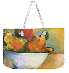 Pearing Up Weekender Tote Bag