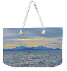 Three Realms/dusk Weekender Tote Bag
