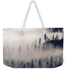 Three Ridges Fog Weekender Tote Bag