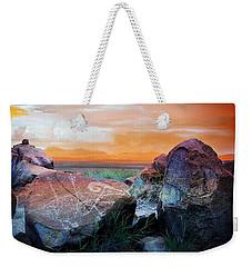 Three Rivers Petroglyphs Weekender Tote Bag