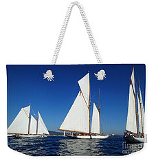 Three Schooners Weekender Tote Bag