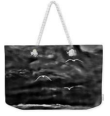 Three Seagulls Weekender Tote Bag