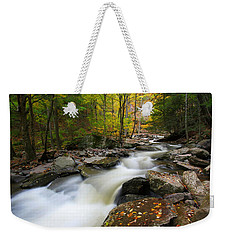 Three Seconds In Fall Weekender Tote Bag