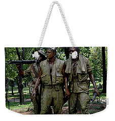 Three Servicemen Weekender Tote Bag