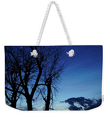 Weekender Tote Bag featuring the photograph Three Sisters by Cricket Hackmann