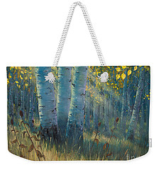 Three Sisters - Spirit Of The Forest Weekender Tote Bag by Rob Corsetti