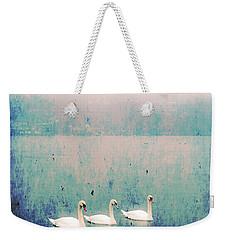 Three Swans Weekender Tote Bag by Joana Kruse