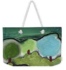 Three Trees - Triple Landscape Weekender Tote Bag by Lenore Senior
