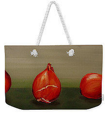 Three Tulip Bulbs Weekender Tote Bag