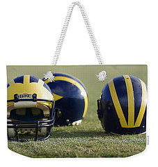 Three Wolverine Helmets Weekender Tote Bag