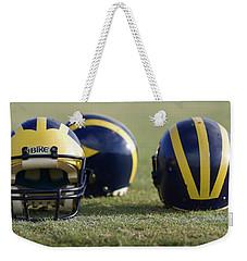 Three Wolverine Helmets Weekender Tote Bag