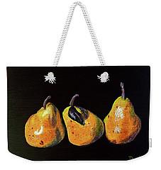 Three Yellow Pears Weekender Tote Bag