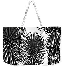 Three Yuccas Weekender Tote Bag by John Bartosik