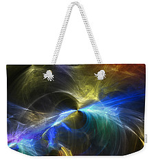 Weekender Tote Bag featuring the photograph Threshold by Mark Blauhoefer