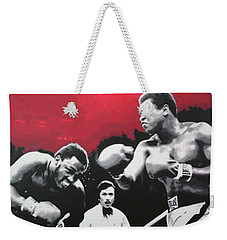 Thrilla In Manila Weekender Tote Bag