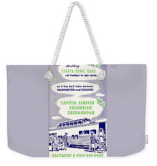 Thrilling Strata-dome Cars Weekender Tote Bag