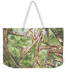 Through Lacy Branches Weekender Tote Bag