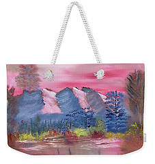 Through Rose Colored Glasses Weekender Tote Bag by Meryl Goudey